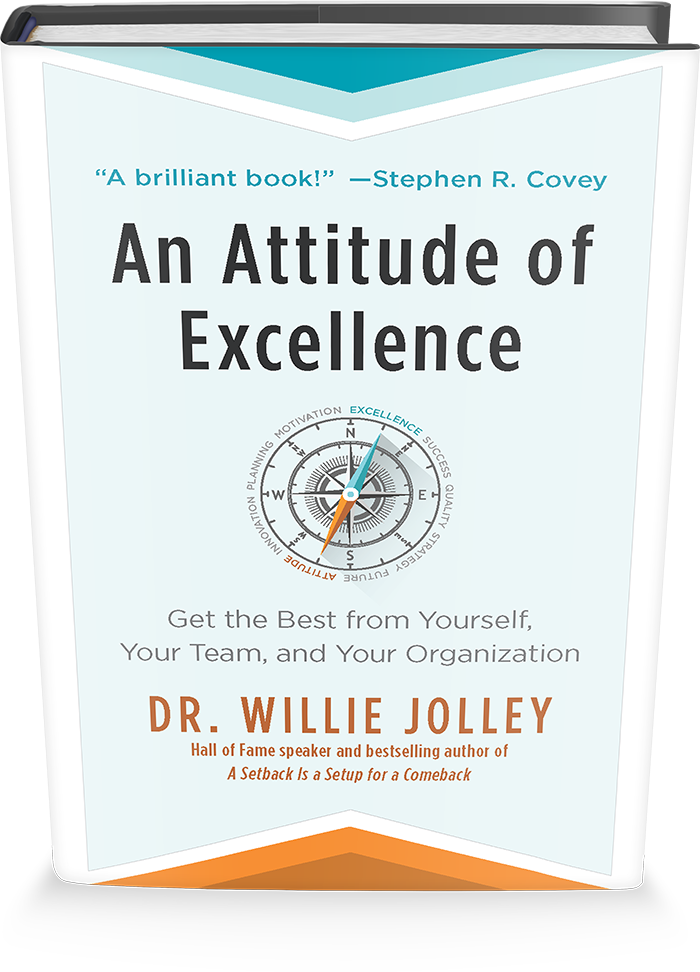 attitude of excellence book cover