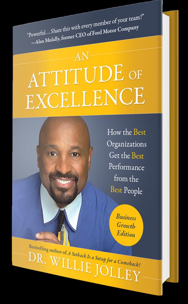 Attitude of Excellence book